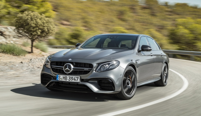 W213 Mercedes-AMG E63 4Matic+ and E63 S 4Matic+ debuts – the most powerful E-Class, ever Image #569658