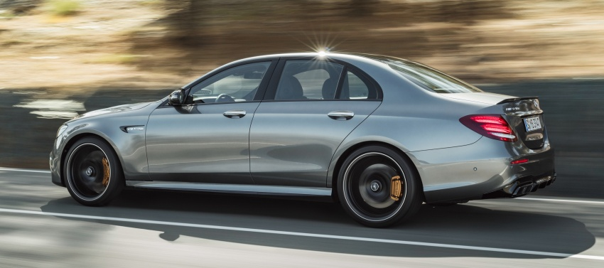 W213 Mercedes-AMG E63 4Matic+ and E63 S 4Matic+ debuts – the most powerful E-Class, ever Image #569659