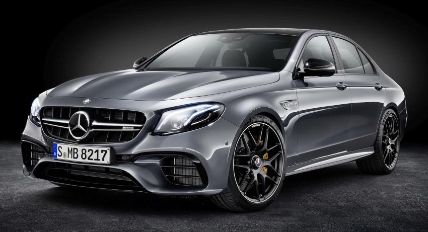Mercedes-AMG W213 E63 4MATIC+ dan E63 S 4MATIC+ – E-Class paling berkuasa pernah dihasilkan Image #570323
