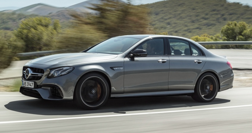 W213 Mercedes-AMG E63 4Matic+ and E63 S 4Matic+ debuts – the most powerful E-Class, ever Image #569660