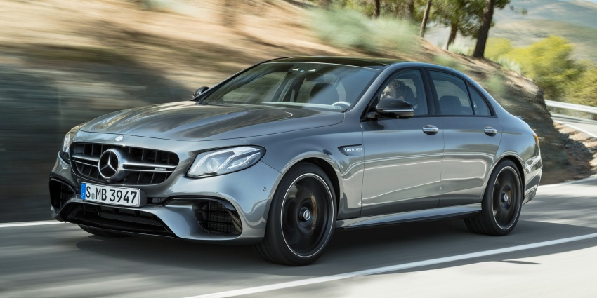 W213 Mercedes-AMG E63 4Matic+ and E63 S 4Matic+ debuts – the most powerful E-Class, ever Image #569661