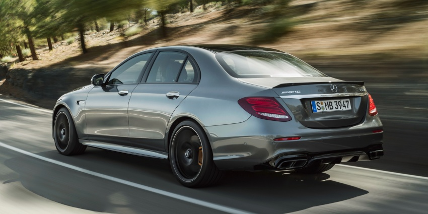 W213 Mercedes-AMG E63 4Matic+ and E63 S 4Matic+ debuts – the most powerful E-Class, ever Image #569662