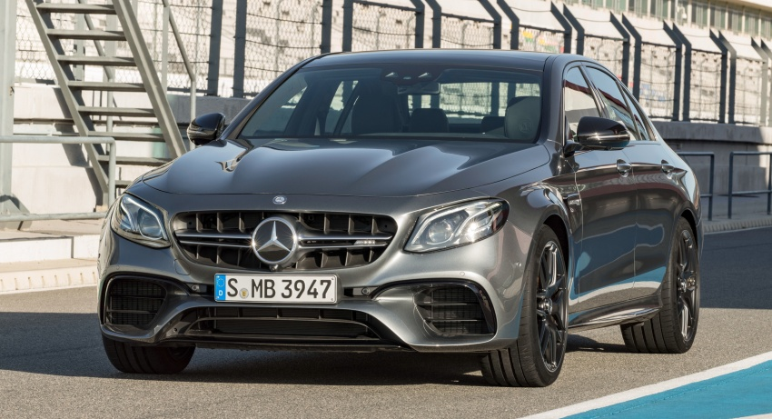 W213 Mercedes-AMG E63 4Matic+ and E63 S 4Matic+ debuts – the most powerful E-Class, ever Image #569663