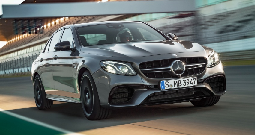W213 Mercedes-AMG E63 4Matic+ and E63 S 4Matic+ debuts – the most powerful E-Class, ever Image #569665