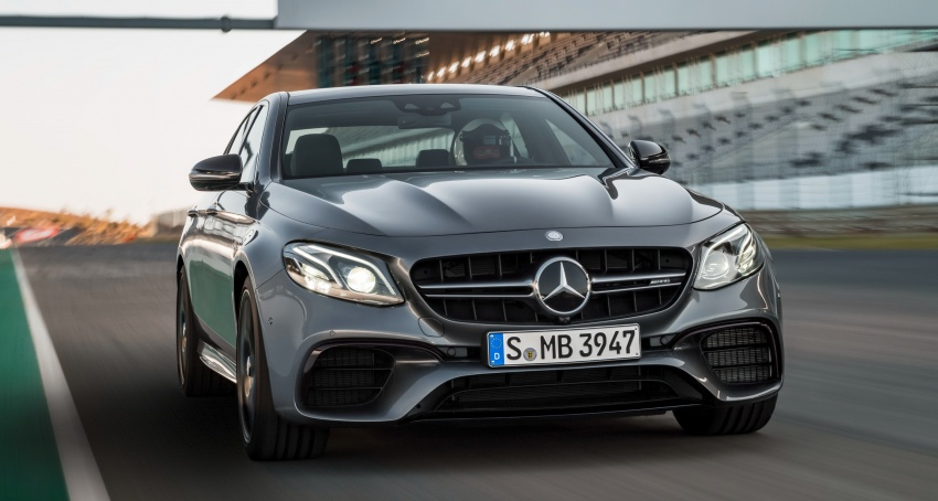 W213 Mercedes-AMG E63 4Matic+ and E63 S 4Matic+ debuts – the most powerful E-Class, ever Image #569666