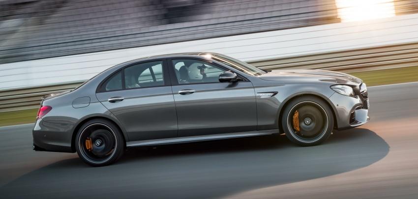 Mercedes-AMG W213 E63 4MATIC+ dan E63 S 4MATIC+ – E-Class paling berkuasa pernah dihasilkan Image #570295
