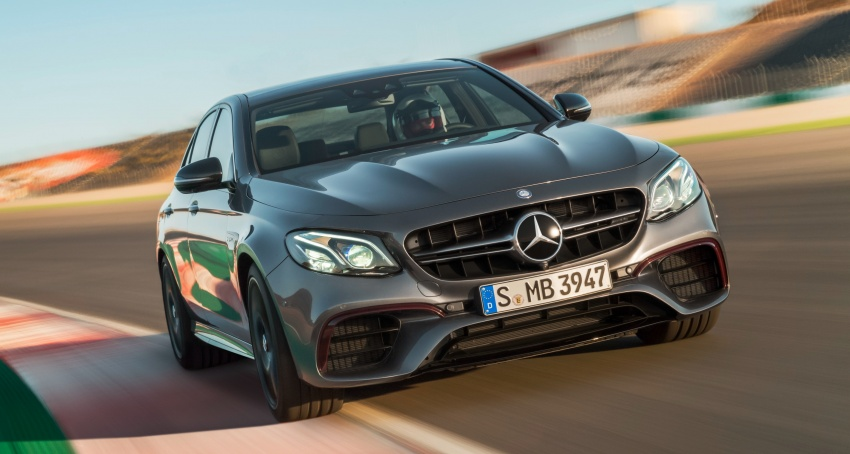 W213 Mercedes-AMG E63 4Matic+ and E63 S 4Matic+ debuts – the most powerful E-Class, ever Image #569647