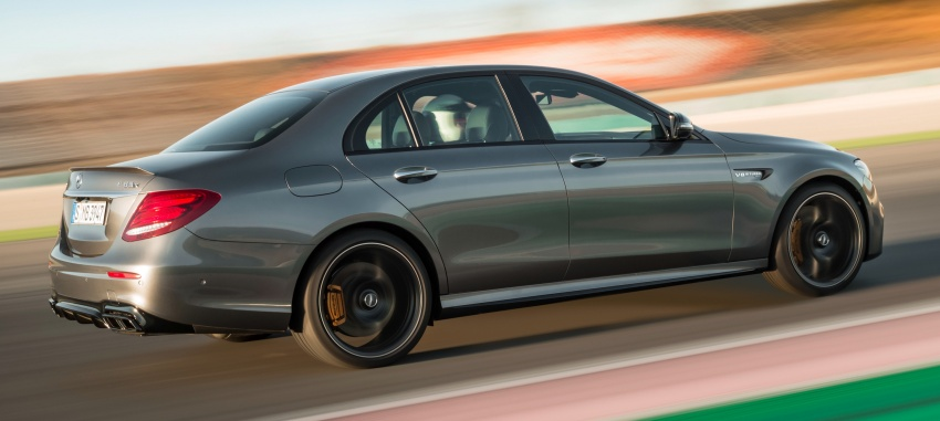 W213 Mercedes-AMG E63 4Matic+ and E63 S 4Matic+ debuts – the most powerful E-Class, ever Image #569648