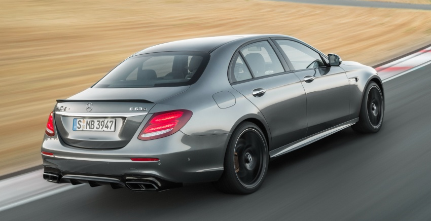W213 Mercedes-AMG E63 4Matic+ and E63 S 4Matic+ debuts – the most powerful E-Class, ever Image #569649