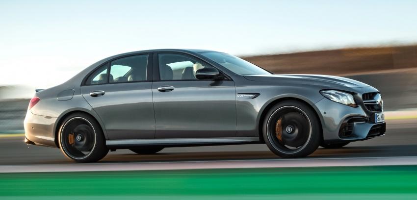 Mercedes-AMG W213 E63 4MATIC+ dan E63 S 4MATIC+ – E-Class paling berkuasa pernah dihasilkan Image #570316