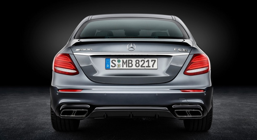 W213 Mercedes-AMG E63 4Matic+ and E63 S 4Matic+ debuts – the most powerful E-Class, ever Image #569680