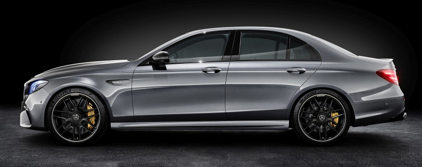 W213 Mercedes-AMG E63 4Matic+ and E63 S 4Matic+ debuts – the most powerful E-Class, ever Image #569599