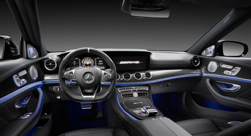 W213 Mercedes-AMG E63 4Matic+ and E63 S 4Matic+ debuts – the most powerful E-Class, ever Image #569591