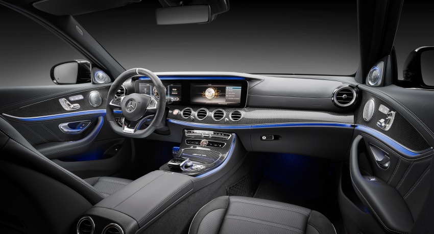 W213 Mercedes-AMG E63 4Matic+ and E63 S 4Matic+ debuts – the most powerful E-Class, ever Image #569586
