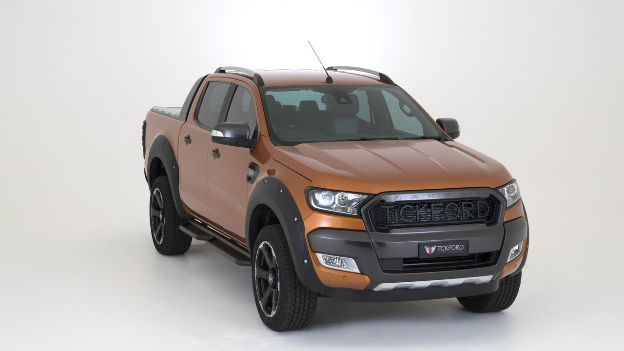 2016 Ford Ranger >> Ford Ranger receives Tickford boost – 228 hp, 560 Nm Image 559024