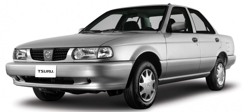 Nissan Tsuru – plug finally pulled on 0-star rated car Image #570965