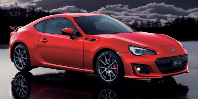 Subaru Brz Gt Announced For Anese Market Sachs Dampers Brembo Brakes From Rm134k