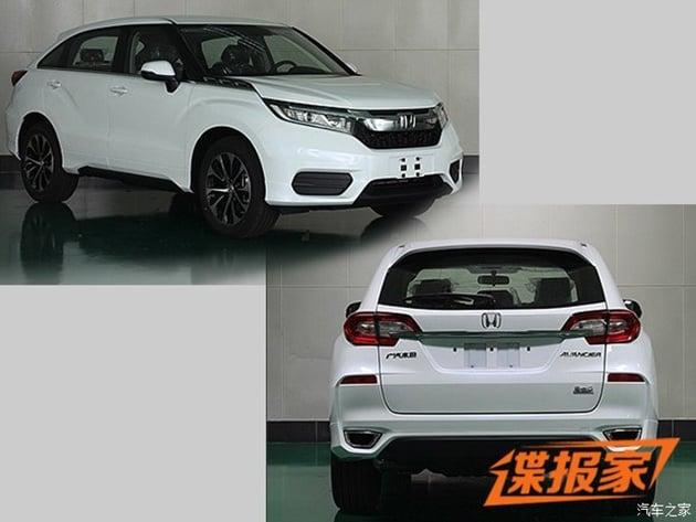 Honda Avancier 1.5T spyshots