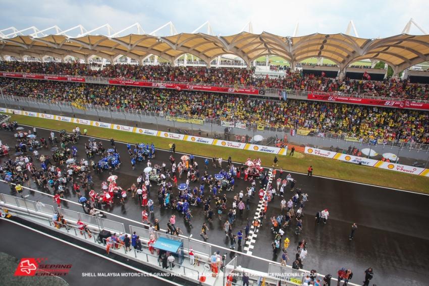 2016 Malaysian MotoGP draws record crowd of 160k Image #573104