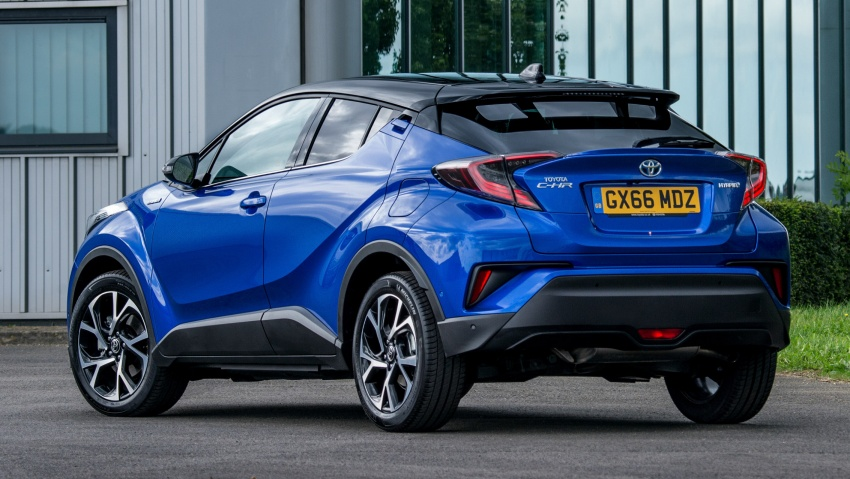 GALLERY: Toyota C-HR – more images of crossover Paul Tan ...