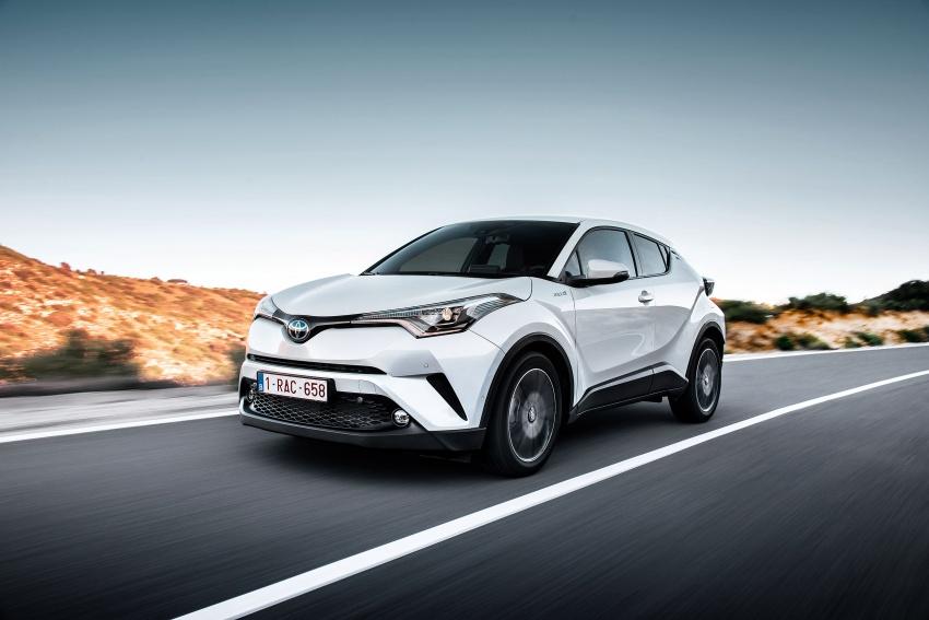 GALERI: Toyota C-HR – gambar perincian tambahan Image #579014