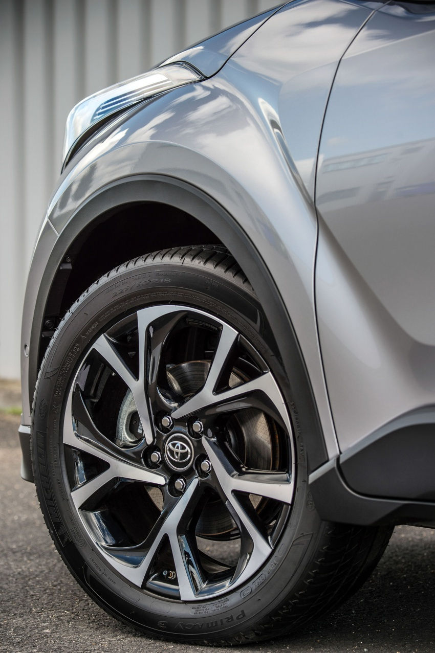 GALERI: Toyota C-HR – gambar perincian tambahan Image #578947