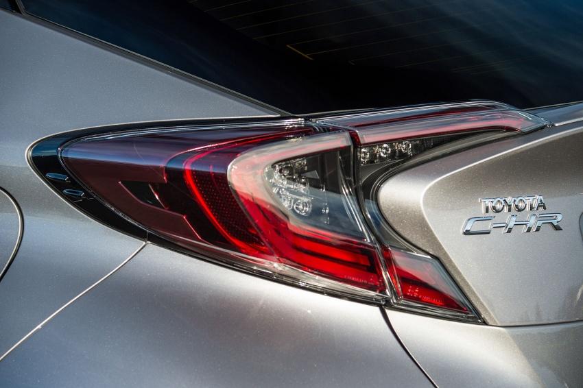GALERI: Toyota C-HR – gambar perincian tambahan Image #578957
