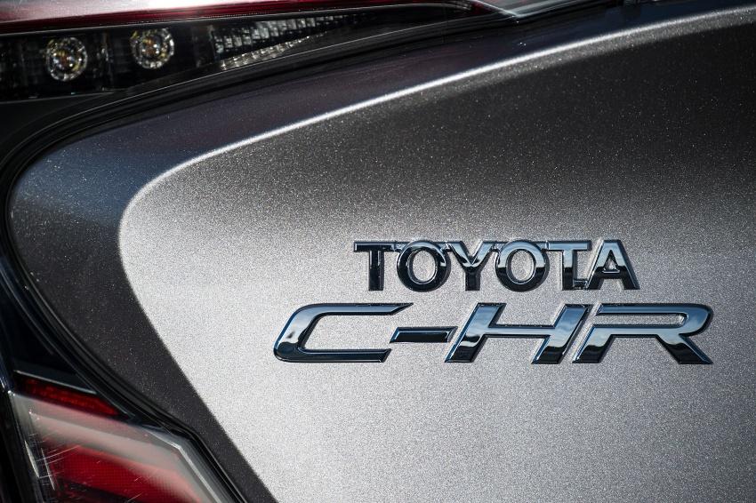 GALERI: Toyota C-HR – gambar perincian tambahan Image #578960