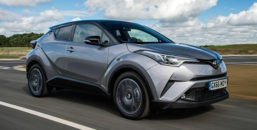 GALERI: Toyota C-HR – gambar perincian tambahan Image #578961
