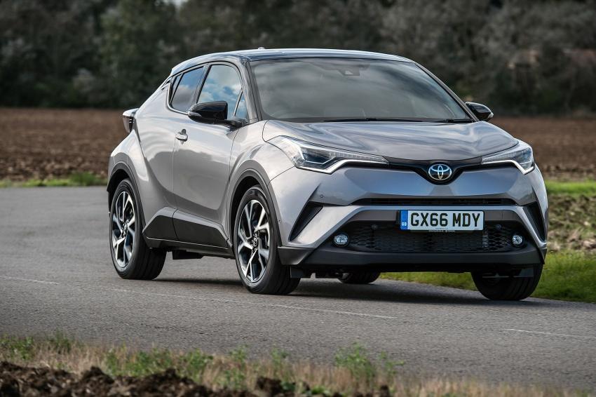 GALERI: Toyota C-HR – gambar perincian tambahan Image #578965