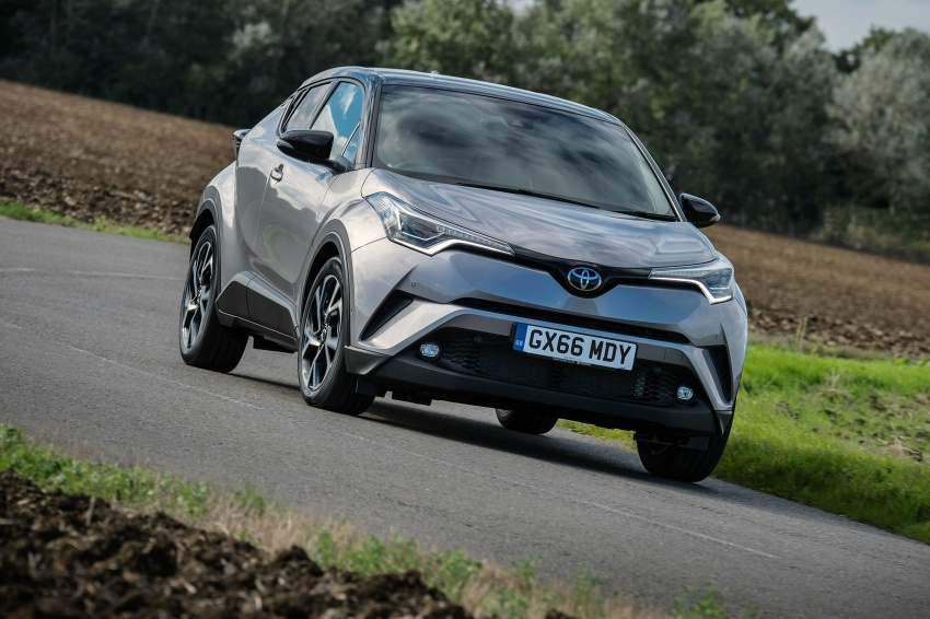 GALERI: Toyota C-HR – gambar perincian tambahan Image #578966