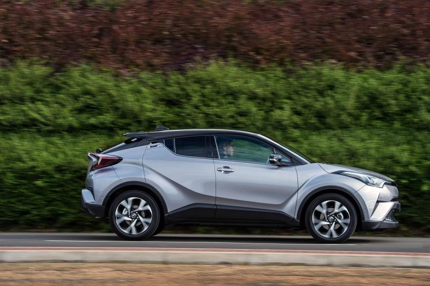 GALERI: Toyota C-HR – gambar perincian tambahan Image #578968