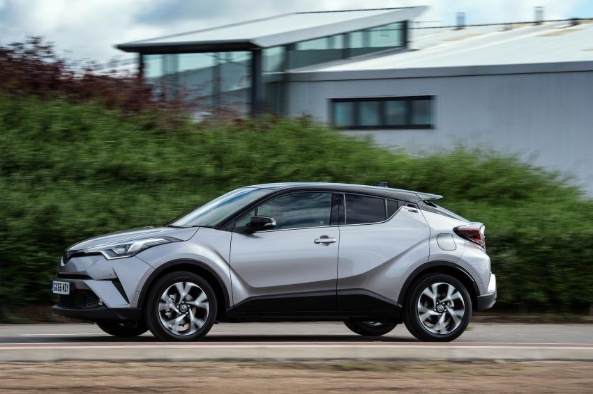 GALERI: Toyota C-HR – gambar perincian tambahan Image #578972