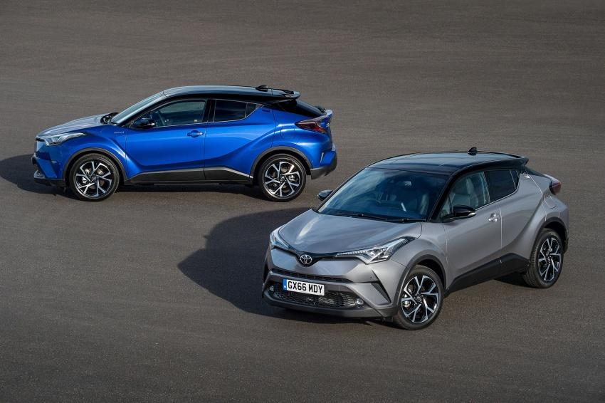GALERI: Toyota C-HR – gambar perincian tambahan Image #578977