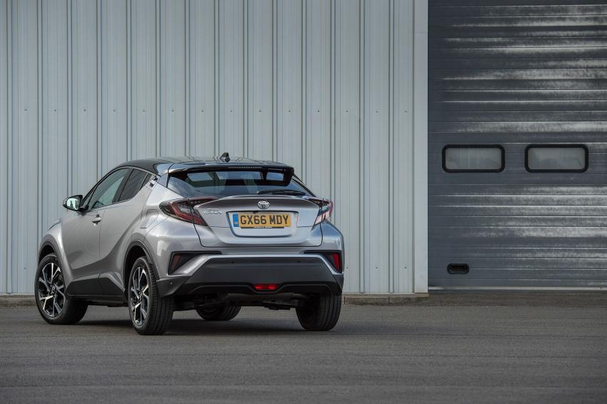 GALERI: Toyota C-HR – gambar perincian tambahan Image #578981