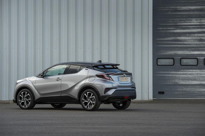 GALERI: Toyota C-HR – gambar perincian tambahan Image #578982