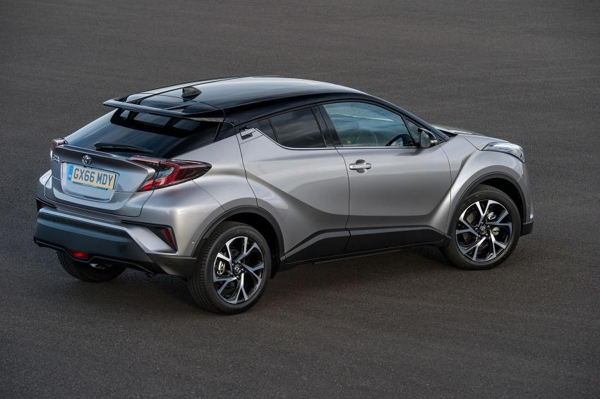 GALERI: Toyota C-HR – gambar perincian tambahan Image #578984