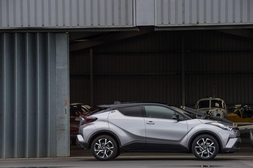 GALERI: Toyota C-HR – gambar perincian tambahan Image #578990