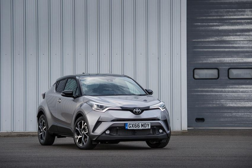 GALERI: Toyota C-HR – gambar perincian tambahan Image #578994