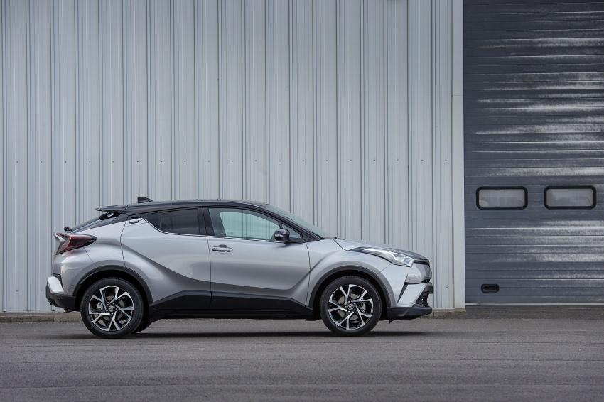 GALERI: Toyota C-HR – gambar perincian tambahan Image #578996