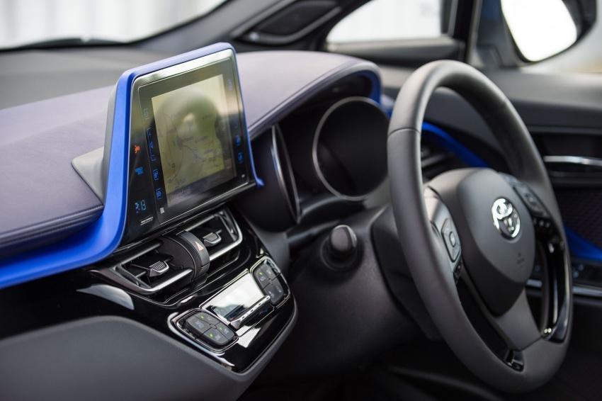 GALERI: Toyota C-HR – gambar perincian tambahan Image #579028