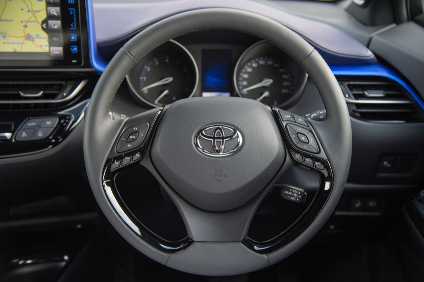 GALERI: Toyota C-HR – gambar perincian tambahan Image #579029
