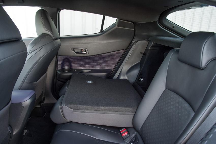 GALERI: Toyota C-HR – gambar perincian tambahan Image #579030
