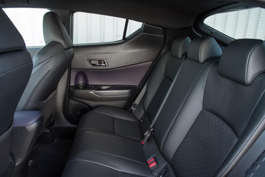 GALERI: Toyota C-HR – gambar perincian tambahan Image #579031