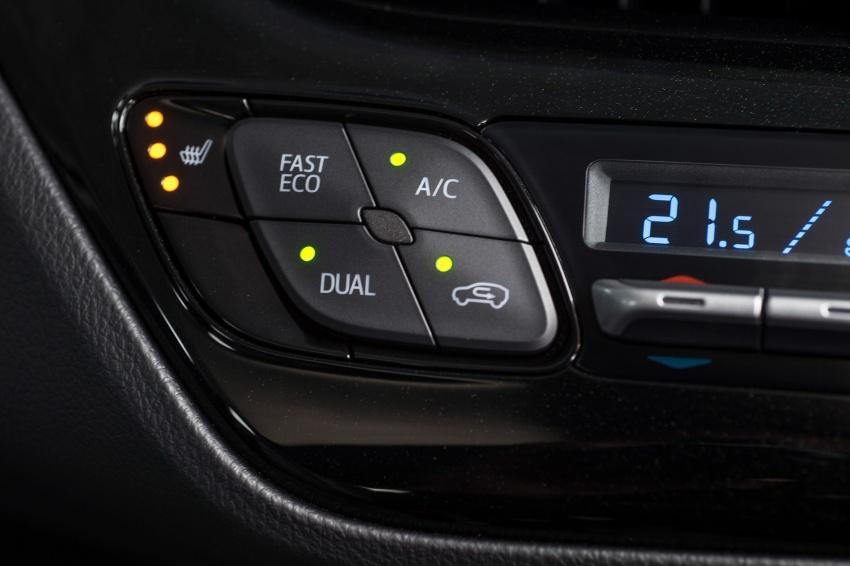 GALERI: Toyota C-HR – gambar perincian tambahan Image #579034