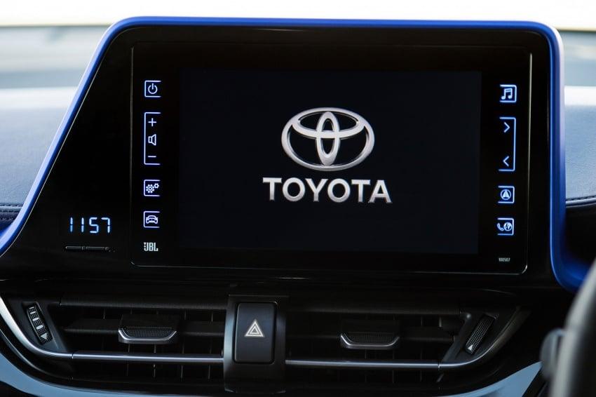 GALERI: Toyota C-HR – gambar perincian tambahan Image #579041
