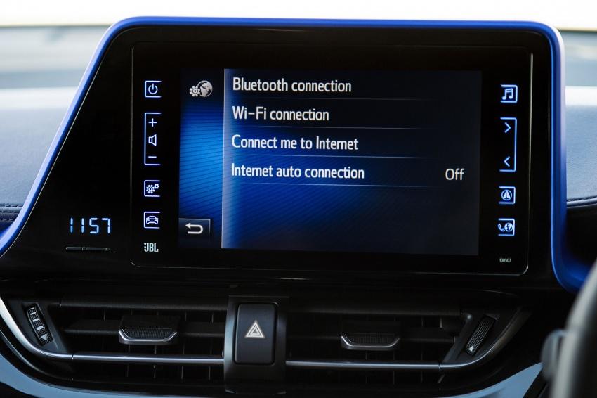 GALERI: Toyota C-HR – gambar perincian tambahan Image #579044
