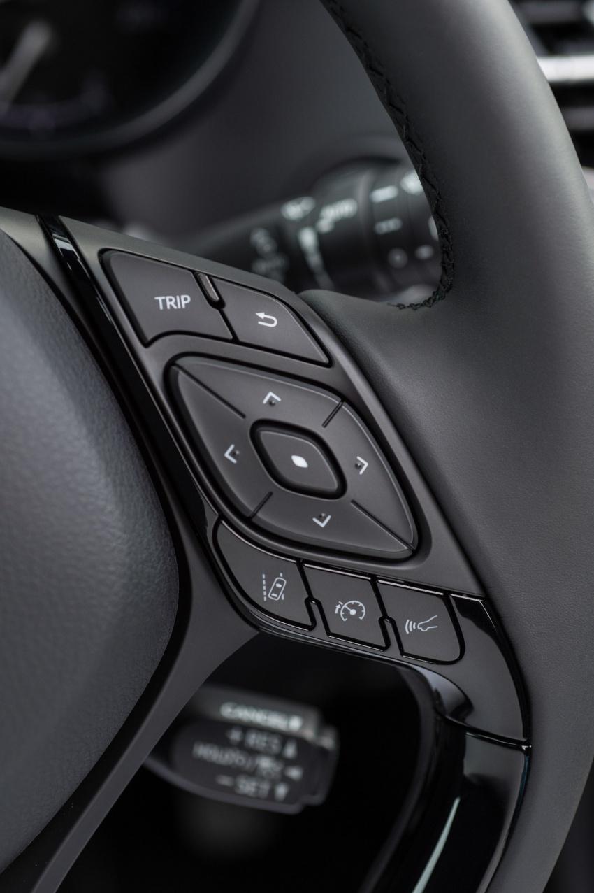 GALERI: Toyota C-HR – gambar perincian tambahan Image #579055