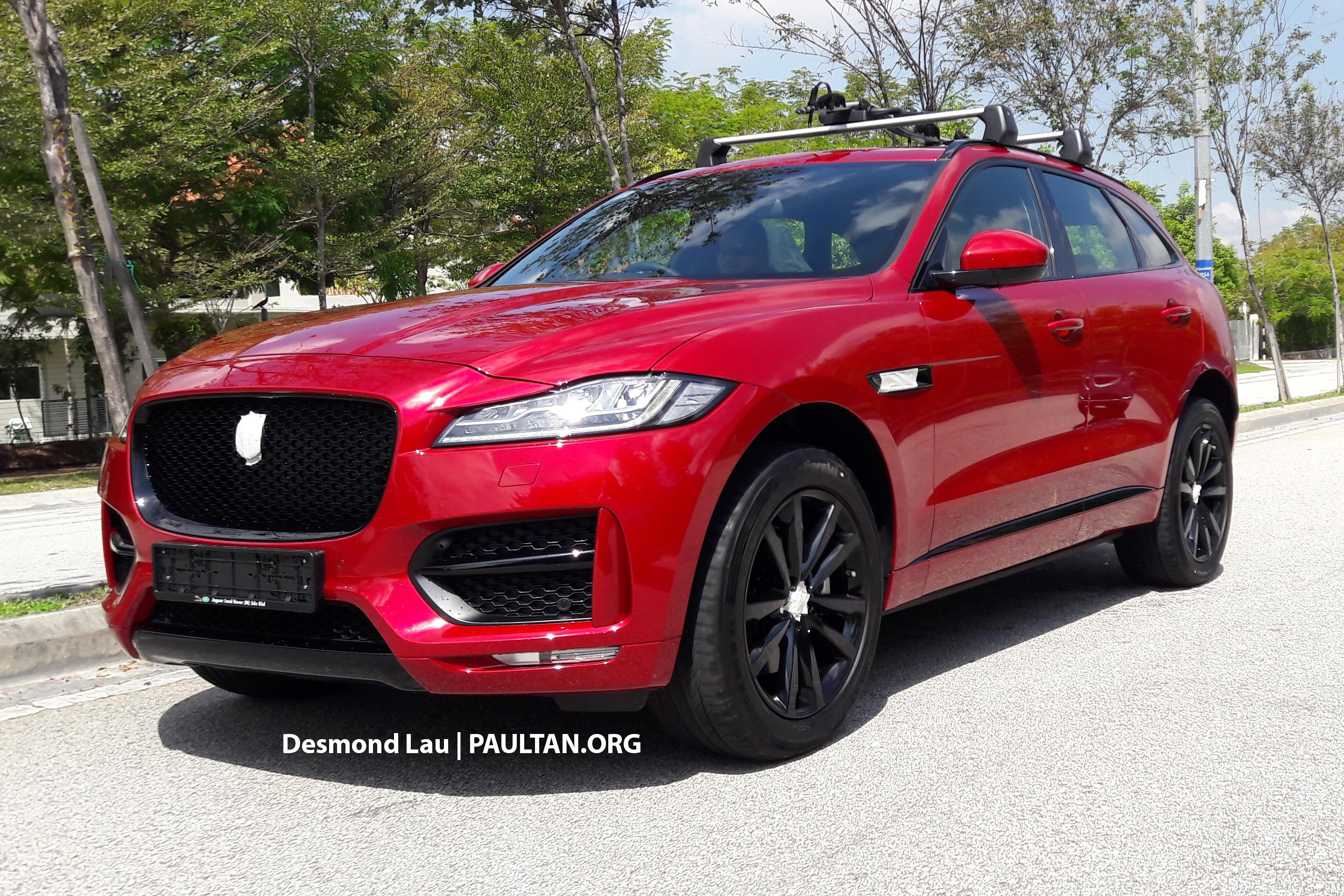 Spyshots Jaguar F Pace In Malaysia 3 0 S C V6