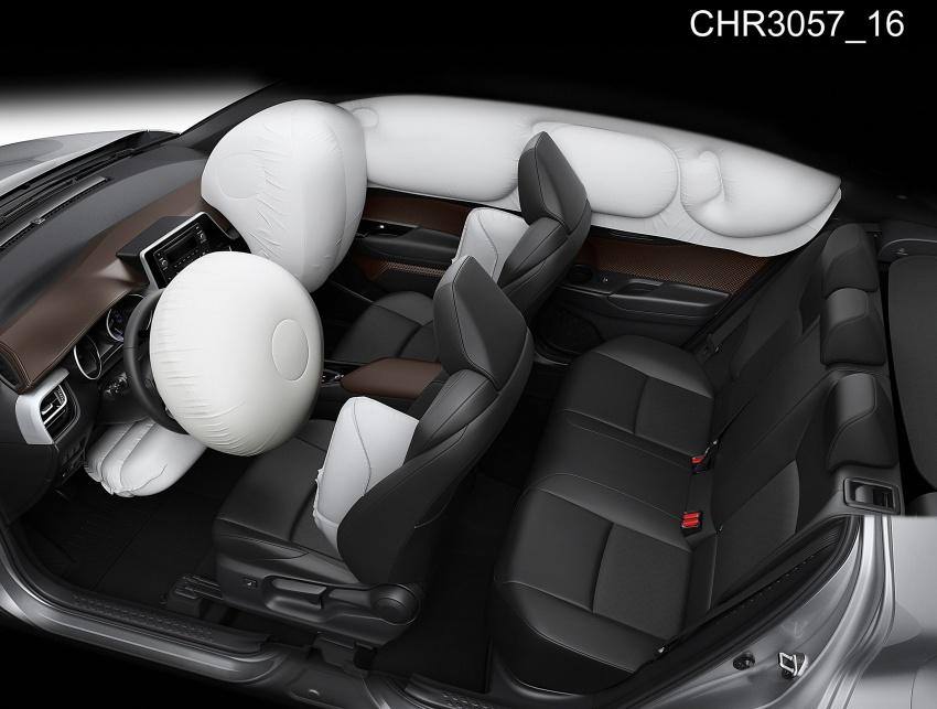 GALERI: Toyota C-HR – gambar perincian tambahan Image #579068